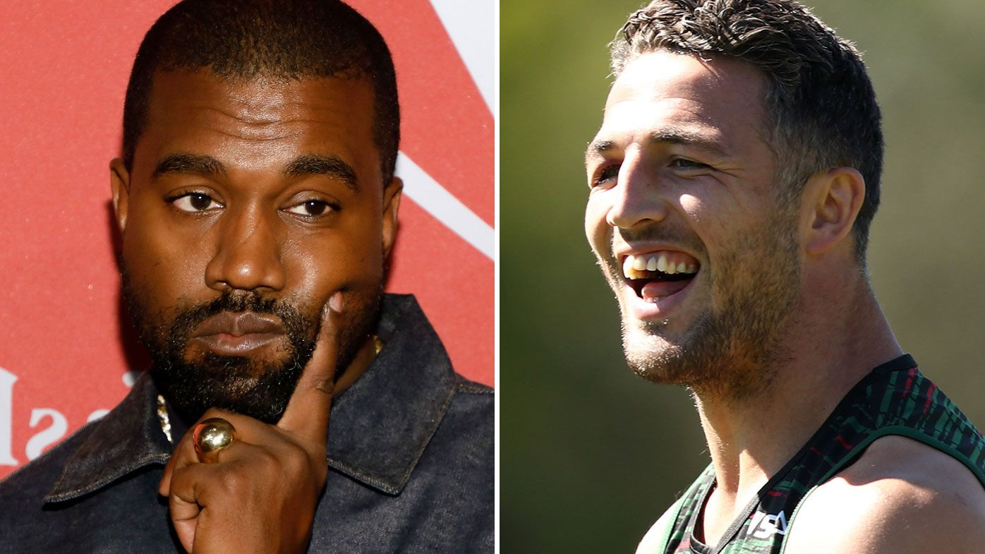 Sam Burgess reveals the wild night Kanye West called him a 'poor person' while partying with Russell Crowe in London