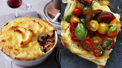 Food fight: savoury pies v savoury tarts