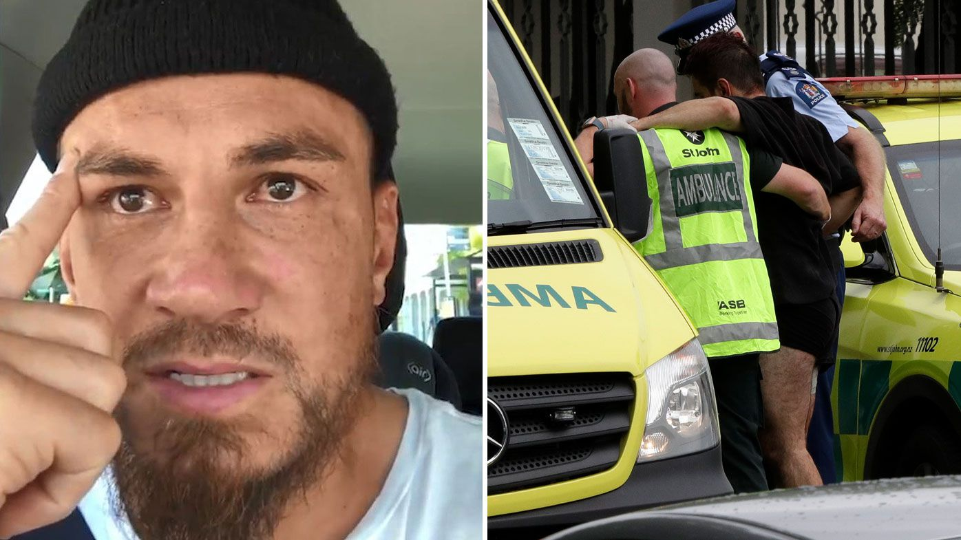 Sonny Bill Williams breaks down over Christchuch