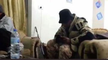 ISIS kingpins captured on camera meeting in Syrian café