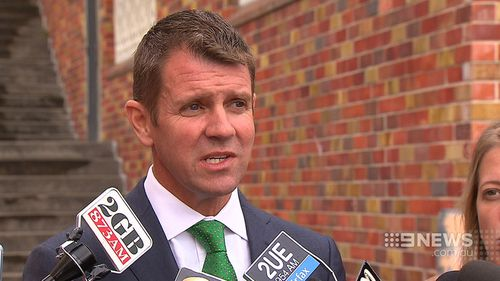 "NSW Premier Mike Baird said the state needs to stop settling for ""second best."" (9NEWS)"