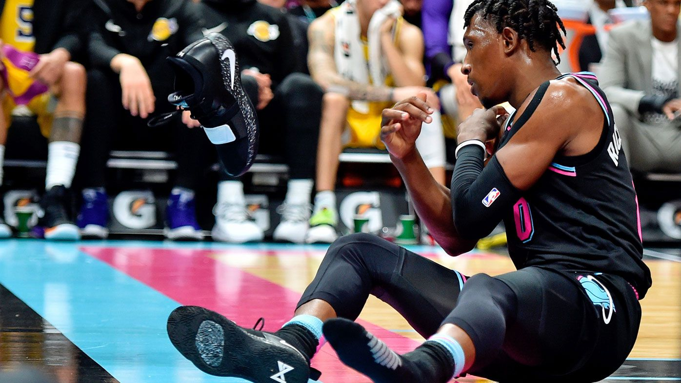 NBA fines Josh Richardson $25,000 for throwing shoe into crowd