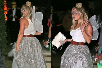"""Hilary pulls off the """"casual country fairy"""" look with ease."""