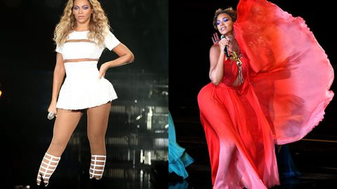 Review: Powerhouse vocals, fireworks and animal-print prams! Beyonce's <i>Mrs Carter Show</i> shows 'em who's queen
