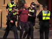 Arrests made as police rove Melbourne in force
