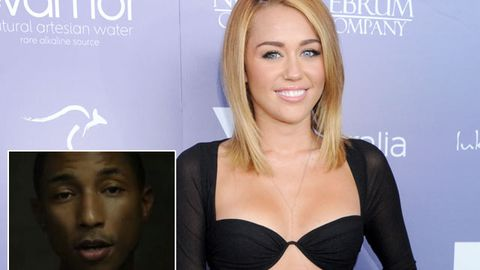 "Miley Cyrus drug video ""inspires"" Pharrell Williams"