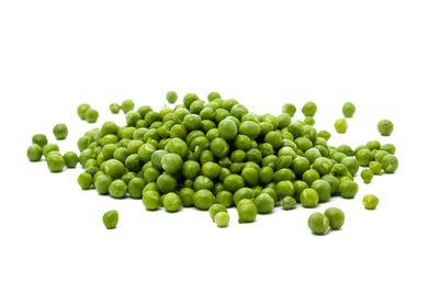 Green peas: 1/2 cup has 13g carbs, 4g fibre, 67 calories