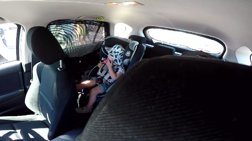 In the past year, 1507 children under the age of 13 were found locked in cars.