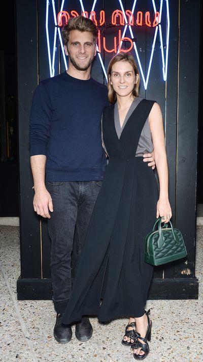 <p>Jeremy Everett and Gaia Repossi.</p>