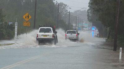 Rainfall levels break records along NSW coast