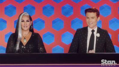 Michelle Visage, Rhys Nicholson, RuPaul's Drag Race Down Under