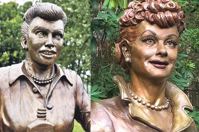<strong>Celoron, America: Lucille Ball statue</strong>