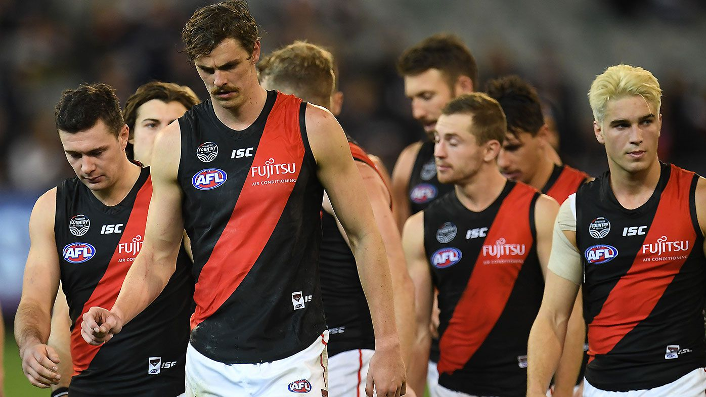 Essendon great Matthew Lloyd says Bombers have become a 'placid football club'