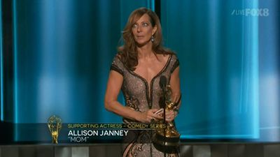 <p><strong>Supporting Actress, Comedy</strong></p><p>Allison Janney, <em>Mom</em></p>