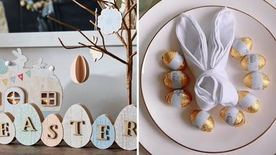 How to style your table for Easter