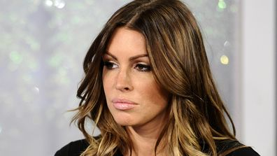 Tiger Woods mistress Rachel Uchitel during an interview on NBC.