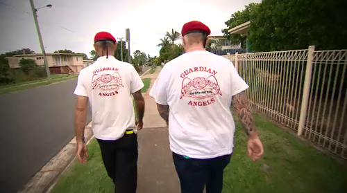 The Guardian Angels are not vigilantes, saying they don't go around looking for trouble or chasing criminals.