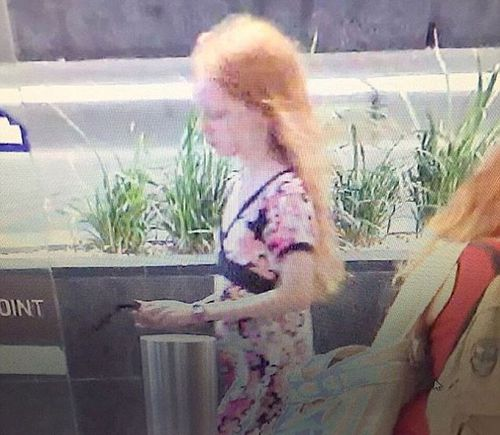 A photo believed to be of missing Sydney girl Michelle Levy. (Facebook)