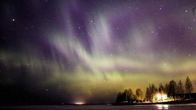 Aurora australis on full display at an undisclosed location. (Twitter)