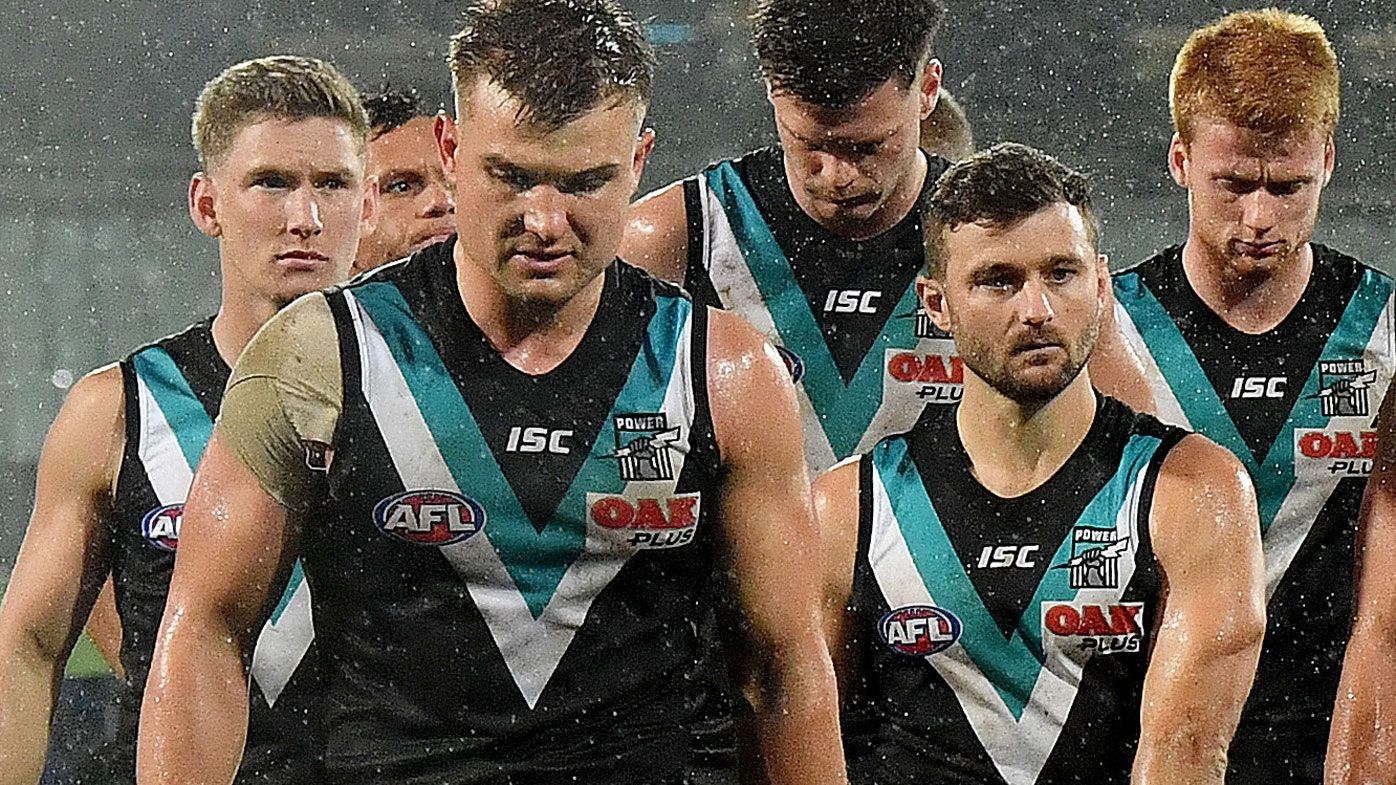 Port Adelaide coach Ken Hinkley defends co-captain Ollie Wines after 'poor' outing