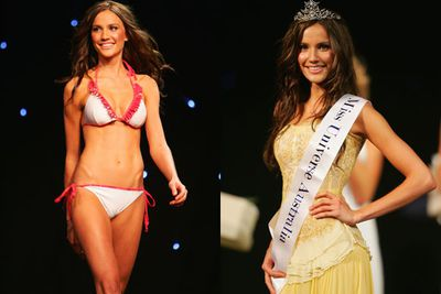 In 2009, bronzed Queensland babe Rachael Finch took out the prestigious Miss Universe Oz title... before coming 3rd in the international pageant in the Bahamas. <br/><br/>But don't think this is the first crown Rach had boasted, with the taut teen winning Queensland Model of the Year three years before scooping up her global sash. <br/>