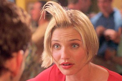 She also got nominated for a Golden Globe award for styling her hair with fake sperm for <i>There's Something About Mary</i>. Gross!<br/><br/>(Image: 20th Century Fox)