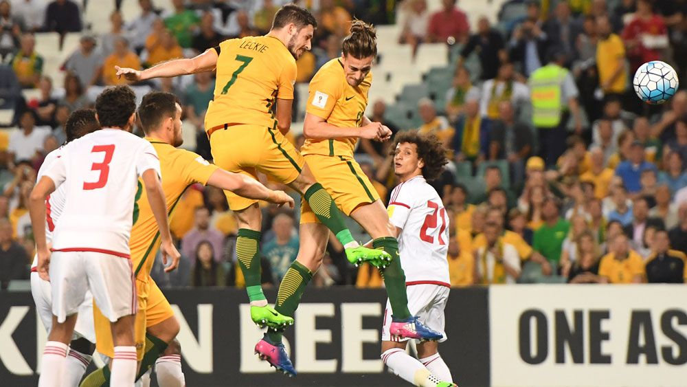 Australia heads to victory in World Cup qualifier against UAE
