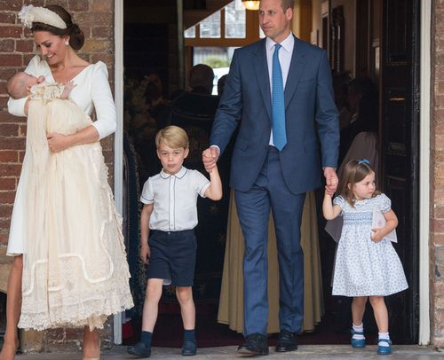 His older brother and sister were there to see his big day. Picture: AAP