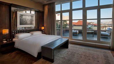 Park Hyatt Istanbul bedroom