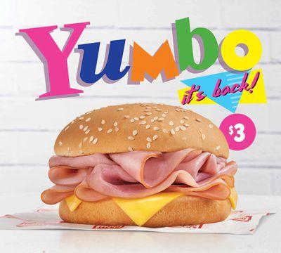 Hungry Jack's bring back retro Yumbo burger