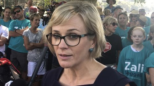 Zali Steggall is running in Warringah as an independent.