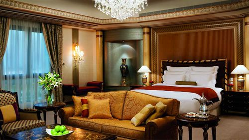 A typical room in the Ritz-Carlton in Riyadh. (Ritz-Carlton)