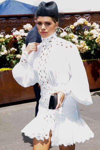 Model Sofia Richieat Melbourne's Derby Day, 2018