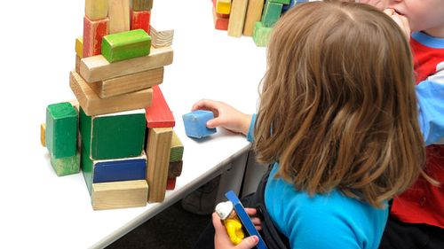 A child plays at a preschool. (AAP file image)