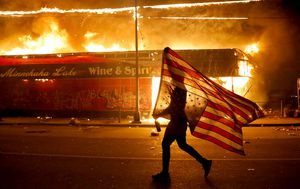Mayhem in Minneapolis: Protesters torch police station, Trump threatens to send National Guard in tragic fallout to death of George Floyd