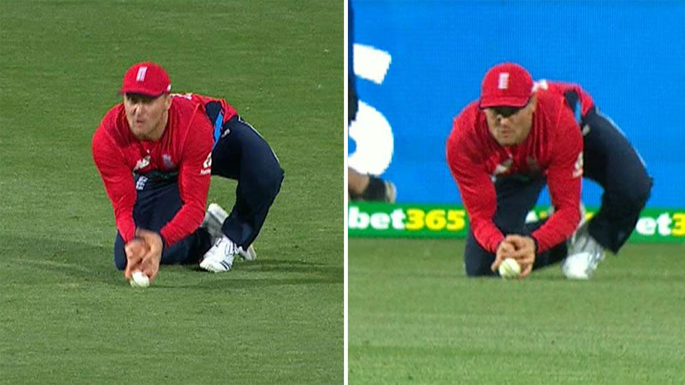 Former cricket legends claim Australian all-rounder Glenn Maxwell was 'out' in T20 against England