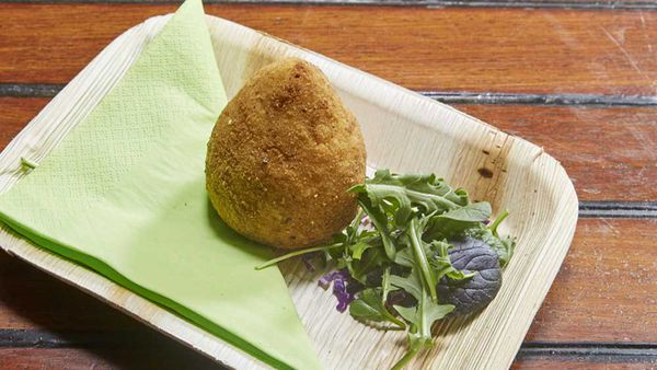 The Gibaldi family's arancini
