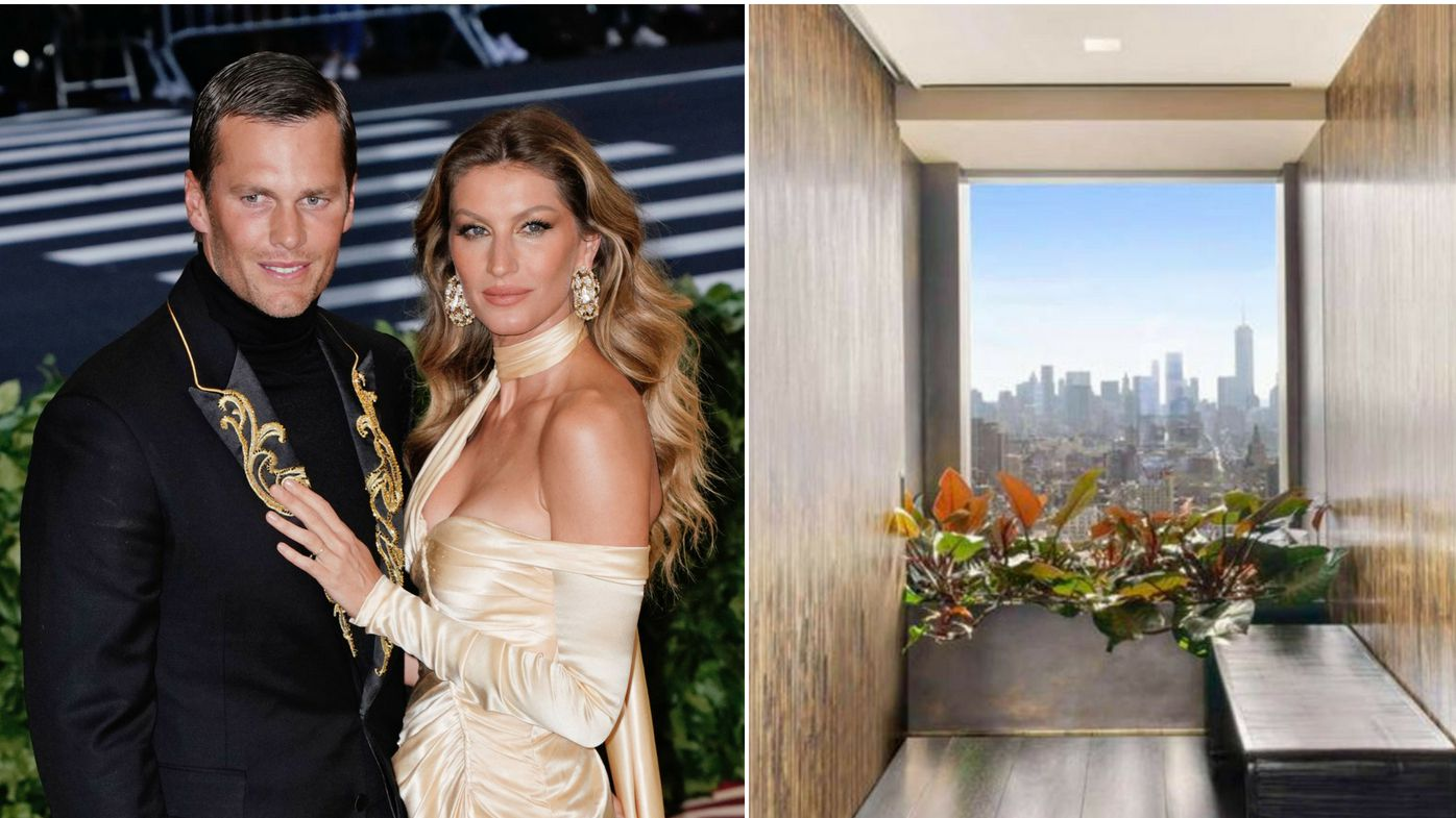 Gisele and Tom NYC apartment split pic