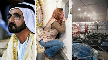The ruler of Dubai has sent $459,530 in aid to hurricane-ravage Haiti. (AFP/Facebook/HRH Princess Haya Bint Al Hussein)