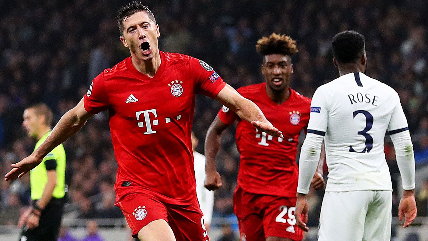 Tottenham humiliated 7-2 by Bayern Munich in historic Champions League rout