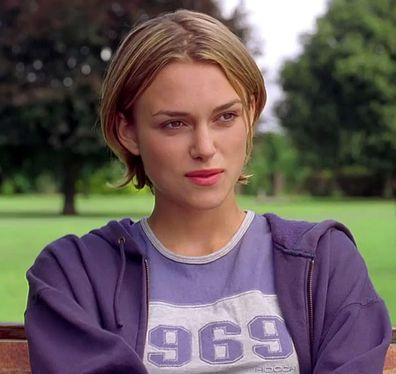 Keira Knightley, Bend It Like Beckham, filming
