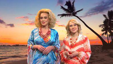 Adele and Kate McKinnon