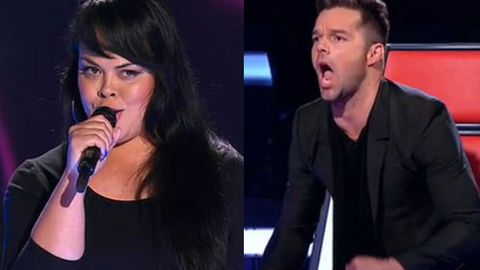 Ricky Martin declares 'a moment of music history' on <i>The Voice</i>