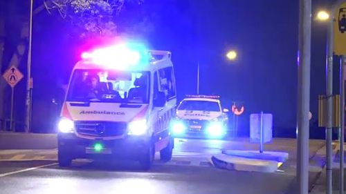 Three people were rushed to hospital over the alleged sexual assault of a young girl and the stabbing of a bystander in Kogarah.
