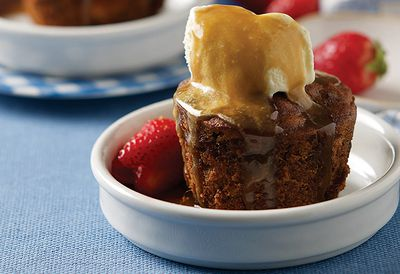 Mini sticky date puddings