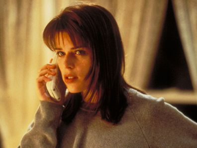 Neve Campbell stars in the 1996 movie Scream.