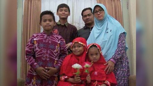 Indonesian police say this family are responsible for attacks on a series of churches.