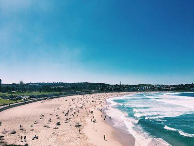 2. Bondi Beach, Sydney, Australia - 1776 pictures per metre