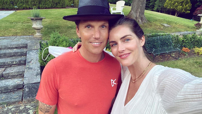 Hilary Rhoda and Sean Avery.