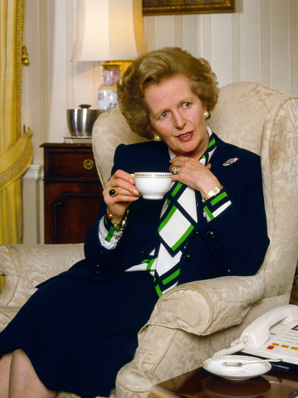 The fight over Margaret Thatcher's fashion legacy